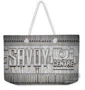 Glasgow Savoy Centre Weekender Tote Bag