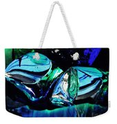 Glass Abstract 141 Weekender Tote Bag