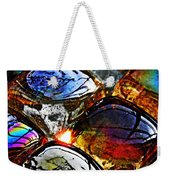 Glass Abstract 2 Weekender Tote Bag