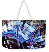 Glass Abstract 219 Weekender Tote Bag