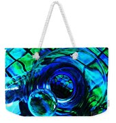 Glass Abstract 226 Weekender Tote Bag by Sarah Loft
