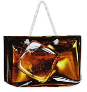 Glass Abstract 317 Weekender Tote Bag