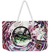 Glass Abstract 515 Weekender Tote Bag