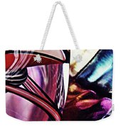 Glass Abstract 523 Weekender Tote Bag