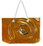 Glass Abstract 578 Weekender Tote Bag