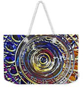 Glass Abstract 587 Weekender Tote Bag