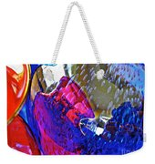 Glass Abstract 609 Weekender Tote Bag