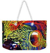 Glass Abstract 630 Weekender Tote Bag