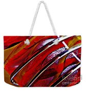 Glass Abstract 649 Weekender Tote Bag