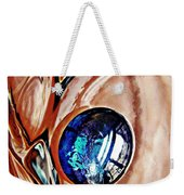 Glass Abstract 676 Weekender Tote Bag