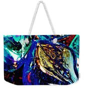 Glass Abstract 687 Weekender Tote Bag