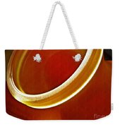 Glass Abstract 776 Weekender Tote Bag