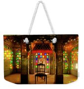 Glass And Mirror Room City Palace Udaipur Weekender Tote Bag
