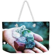 Glass And Stone Weekender Tote Bag