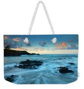 Glass Beach Dawn Weekender Tote Bag