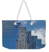 Glass Building Reflections Weekender Tote Bag