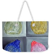 Glass Full Of Shapes Weekender Tote Bag
