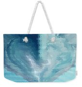 Glass Heart Weekender Tote Bag