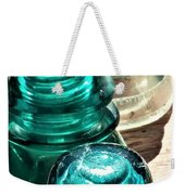 Glass Insulators Weekender Tote Bag