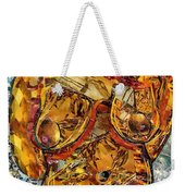 Glass Lady Weekender Tote Bag by Sarah Loft