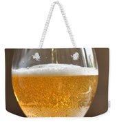 Glass Of Lager Weekender Tote Bag