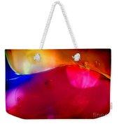Glass Paint Abstract Dark Weekender Tote Bag