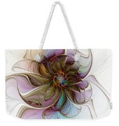 Glass Petals Weekender Tote Bag
