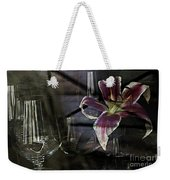 Glass Still Life #1. Weekender Tote Bag