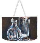 Glass Vases-still Life Weekender Tote Bag