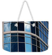 Glass Window Reflection Weekender Tote Bag