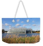 Glasshouse At Rhs Wisley Surrey Uk Weekender Tote Bag