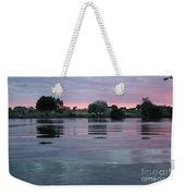 Glassy River Reflection Weekender Tote Bag