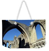 Glastonbur Abbey 2 Weekender Tote Bag