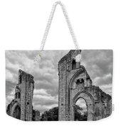 Glastonbury Abbey Weekender Tote Bag