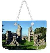Glastonbury Abbey 1 Weekender Tote Bag