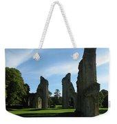 Glastonbury Abbey 3 Weekender Tote Bag