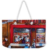 Glatts Kosher Meatmarket And Tailor Shop Weekender Tote Bag