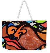 Glaze And Glances Weekender Tote Bag