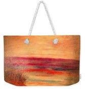 Glazed Affect Beach Scene Weekender Tote Bag