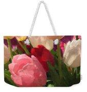 Glazed Tulip Bouquet Weekender Tote Bag