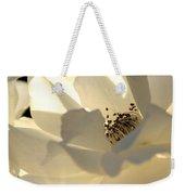 Gleaming White Weekender Tote Bag