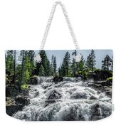 Glen Alpine Falls 7 Weekender Tote Bag