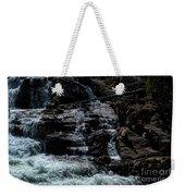 Glen Alpine Falls 8 Weekender Tote Bag