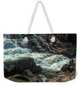 Glen Alpine Falls 9 Weekender Tote Bag