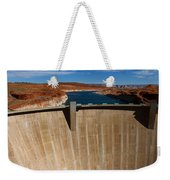 Glen Canyon Dam And Lake Powell Weekender Tote Bag