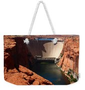 Glen Canyon Dam - Arizona Weekender Tote Bag