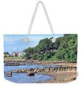 Glen Cove Rocky Beach Weekender Tote Bag