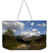 Glen Strontian And The River Strontian Sunart Western Highlands Scotland Weekender Tote Bag