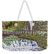 Glen Waterfall Weekender Tote Bag by William Norton