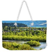 Glenorchy Lagoon At Golden Hour, New Zealand Weekender Tote Bag